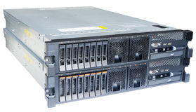 2 сервера изолированного на белизне Стоковое Изображение RF