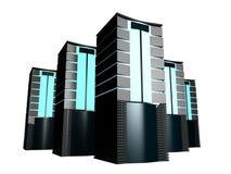 серверы группы 3d Стоковые Фото