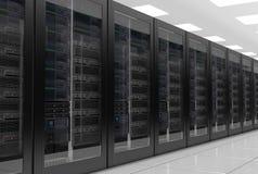 Серверы или центр данных данных бесплатная иллюстрация