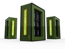 серверы компьютера Стоковое фото RF