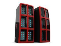 серверы компьютера Стоковая Фотография RF