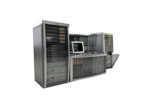 серверы компьютера Стоковое Изображение