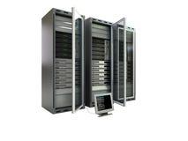 серверы компьютера Стоковая Фотография