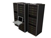 серверы компьютера Стоковое Изображение RF