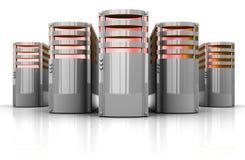 серверы Стоковое Изображение RF
