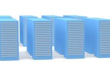 Серверы Стоковое Фото