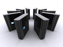 серверы 3d Стоковая Фотография