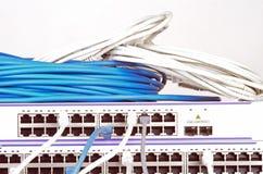 Сервер и провода стоковая фотография