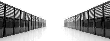 сервер комнаты Стоковая Фотография