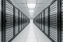 сервер комнаты Стоковое Изображение