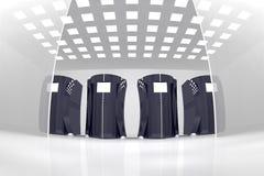 сервер комнаты Стоковое Фото