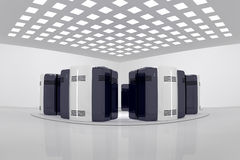сервер комнаты Стоковая Фотография RF