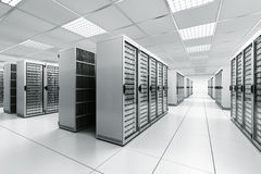 сервер комнаты Стоковые Изображения RF