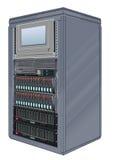 сервер компьютера шкафа Бесплатная Иллюстрация