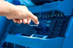 Сервер компьютера стоковые изображения
