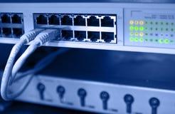 сервер компьютерной комнаты Стоковая Фотография RF