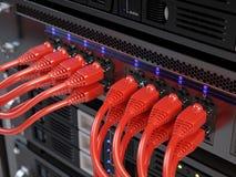 Сервер компьютерной сети иллюстрация вектора