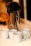 сервер кофе стоковое фото