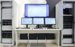 Сервер образца выставки стоковые изображения