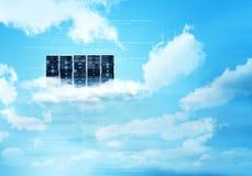 Сервер облака интернета стоковое изображение rf