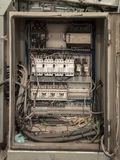 Сервер пользы кабеля LAN Стоковые Изображения