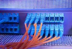Сервер связи и интернета стоковые изображения rf
