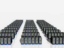 сервер фермы Стоковые Фотографии RF