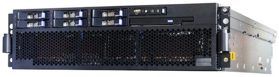 сервер шкафа держателя стоковая фотография rf
