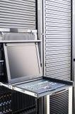 сервер шкафа пульта стоковое фото rf
