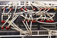 сервер шкафа стоковое фото