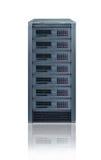 сервер шкафа Стоковое Изображение