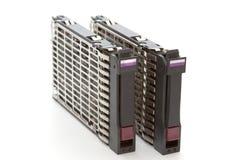 сервер 2 диска трудный Стоковые Изображения
