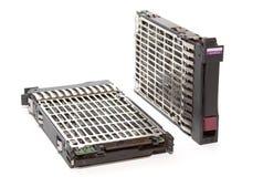 сервер 2 диска трудный Стоковое Изображение RF