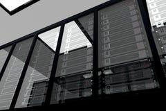 сервер 2 комнат стоковые фотографии rf