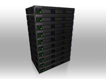 сервер 3d Стоковая Фотография