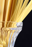 сервировка макаронных изделия сырцовая Стоковое Фото