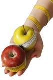 сервировка руки еды здоровая Стоковое Изображение RF