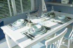 Сервировка стола для обедающего Стоковые Изображения RF