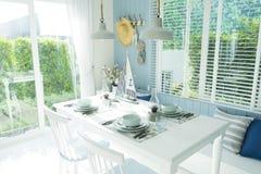Сервировка стола для обедающего Стоковое Фото