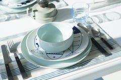 Сервировка стола для обедающего Стоковая Фотография