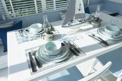 Сервировка стола для обедающего Стоковые Фотографии RF