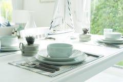 Сервировка стола для обедающего Стоковое Изображение RF