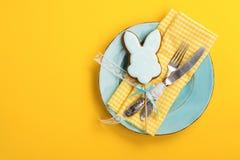 Сервировка стола пасхи Стоковое Изображение RF