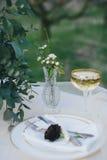 Сервировка стола в ретро стиле Стоковое Изображение RF