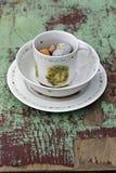 Сервировка стола пасхи Стоковые Изображения RF