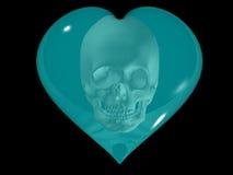 сердечная смерть иллюстрация вектора