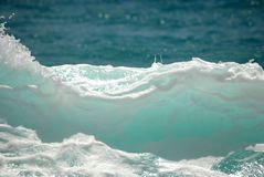 сердитая волна пены Стоковое фото RF