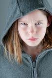 сердитая девушка Стоковое Изображение RF