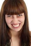 сердитая женщина Стоковые Фото