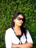 сердитая индийская женщина стоковая фотография rf
